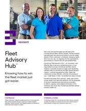 Fleet Advisory Hub Fact Sheet