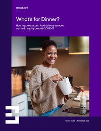 What's for Dinner? How Restaurants & Food Delivery Services Can Build Loyalty Beyond COVID-19