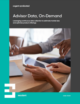 Advisor Data, On-Demand Cover