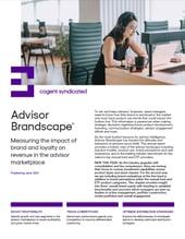 Advisor Brandscape_2021 Fact Sheet