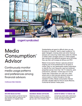 Media Consumption Advisor Fact Sheet