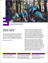 ESG 360_Fact Sheet