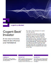 Cogent Beat Investor Fact Sheet