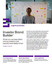 Investor Brand Builder Fact Sheet