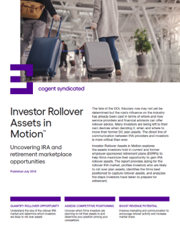 Investor Rollover Assets in Motion