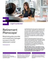 Retirement Planscape_2021 Fact Sheet