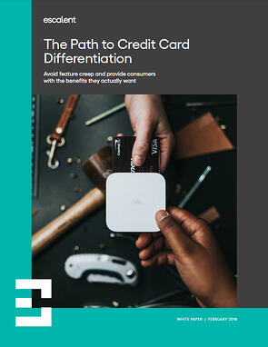The Path to Credit Card Differentiation