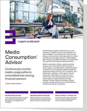 Media Consumption Advisor