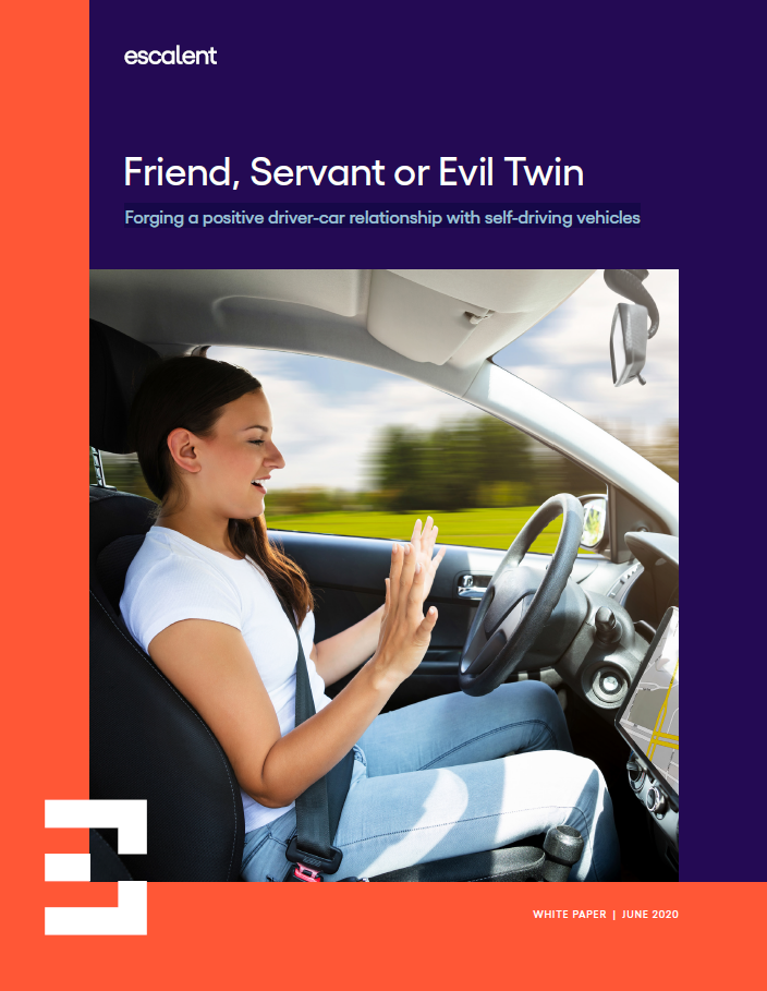 Friend, Servant or Evil Twin: Forging a positive driver-car relationship with self-driving vehicles