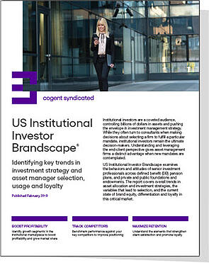 US Institutional Investor Brandscape