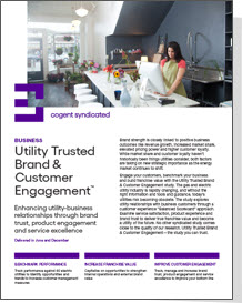 Utility Trusted Brand & Customer Engagement: Business
