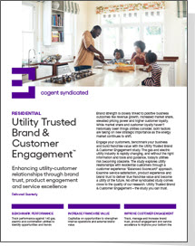 Utility Trusted Brand & Customer Engagement: Residential
